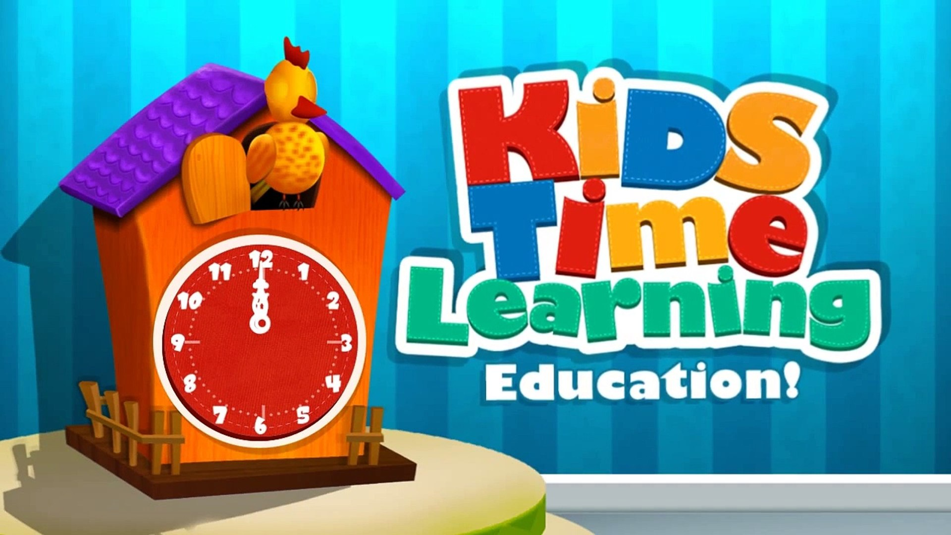 Kids Time Learning Education - iOS_Android Gameplay Trailer By GameiMax