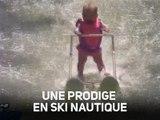 À six mois, une prodige bat un record en ski nautique !