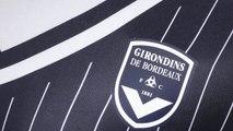Le nouveau maillot domicile de Bordeaux !