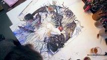 Yoshitaka Amano Artwork Trailer   Child of Light AUT
