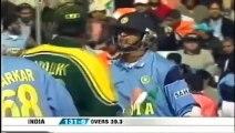 Cricket Fight - Rahul Dravid Vs Shoaib Akhtar -RARE-