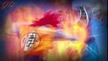 Dbz Beattel of God's Goku vs Beerus - Break Me down - (AMV)