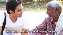 This 70yr old man was selling bhel puri when a man came and left him speechless