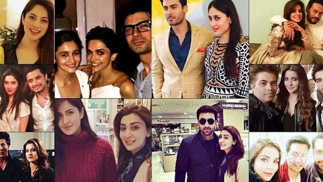 16 Moments When Pakistani Celebrities Met Bollywood Celebrities