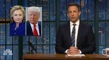 Late-night laughs: Trump vs. Clinton edition