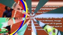 French Open 2016 - Serena Williams beats Magdalena Rybarikova