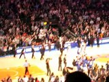 2010.12.15 - NYC Day 1 - Knicks vs. Celtics Game Amare Hits A 3 Pointer At the Buzzer