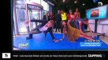 TPMP : Clio Pajczer donne un cours de yoga très sexy aux chroniqueurs (Vidéo)