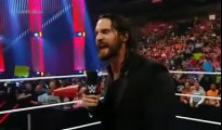 WWE RAW 5_23_16 Roman Reigns Confronts Seth Rollins - WWE Seth Rollins Returns to RAW 5_23_16