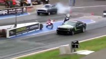 2014 DRAG RACE Stage 3 ROUSH Mustang vs 67 Mustang