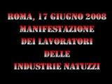 ROMA 17 GIUGNO 2008: MANIFESTAZIONE DEI DIPENDENTI NATUZZI