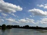 NUAGES BLANCS PUIS GRIS TIME LAPSE 29 08 2012, WHITE THEN GREY CLOUDS