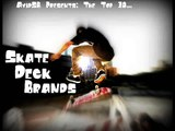 Top 10 Skateboard Deck Brands! As Voted By Real Skateboarders!