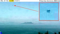 UFO Over Waglan Island, Hong Kong On March 27, 2014, UFO Sighting News.