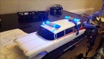 Ecto 1 1/25 AMT Model - Police and Flood Light Demo