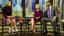 Kelly Ripa 03:25:15 (ZOOMED LEGS) LIVE! with Kelly and Michael ABC