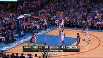 Steph Curry NBA Record 12 3 - pointers + Game Winner vs Thunder (2016.02.27)