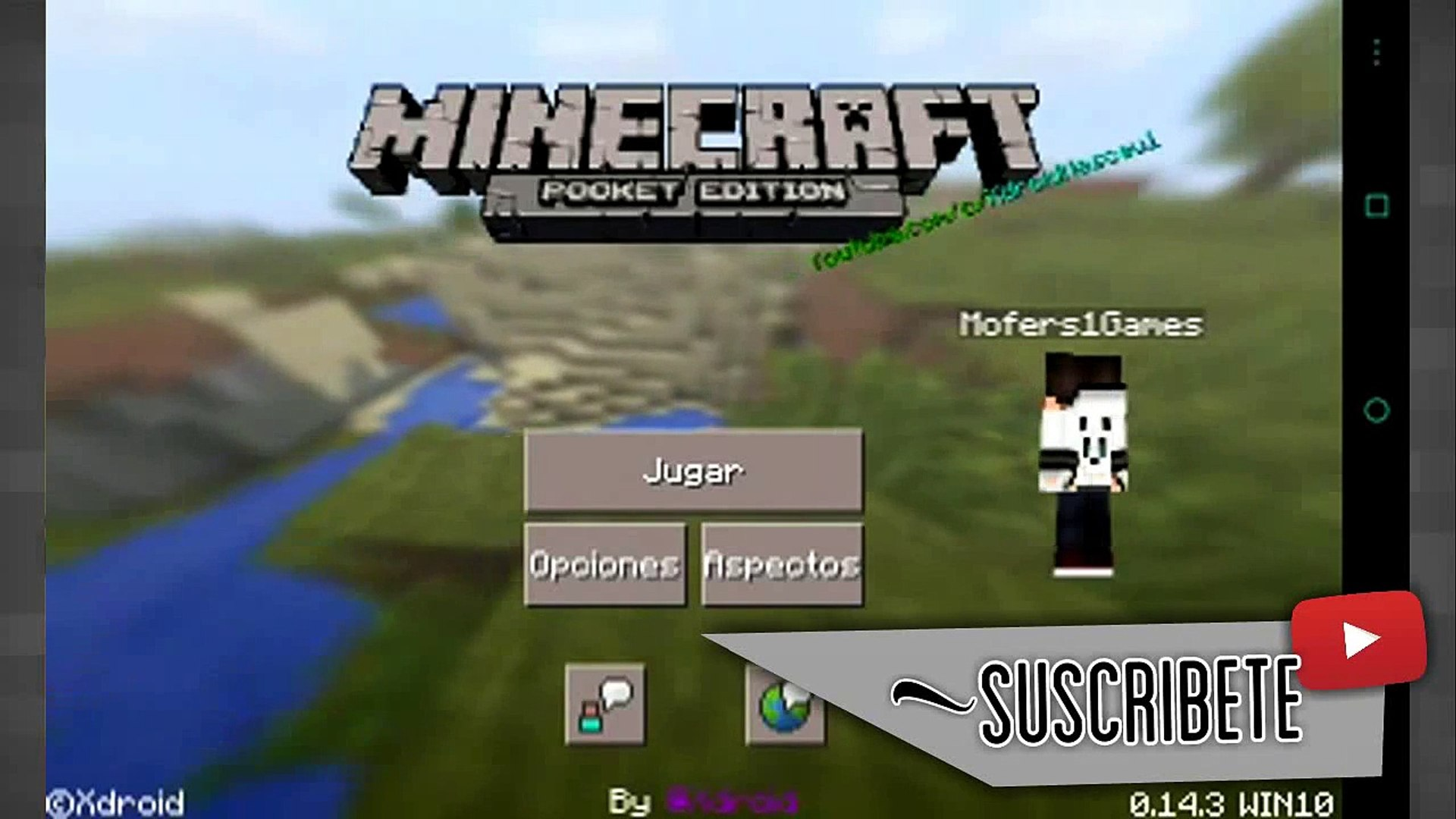 Minecraft Pe:0.14.3-0.15.0 Interfaz De Window 10 Sin Mods!!-Apk Modificada  -Descarga - video dailymotion