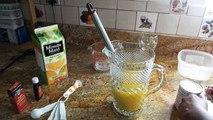 """Creamy Orange Juice """"Morir Soñando"""" aka Orange Bang or Orange Julius"""