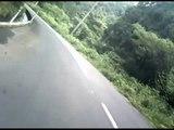 国道476号 西向きルート 南野津又~河原 2009 7 20  XR400R オフロード車