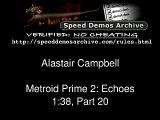 Metroid Prime 2 - any% Speed Run, Segment [20/22]