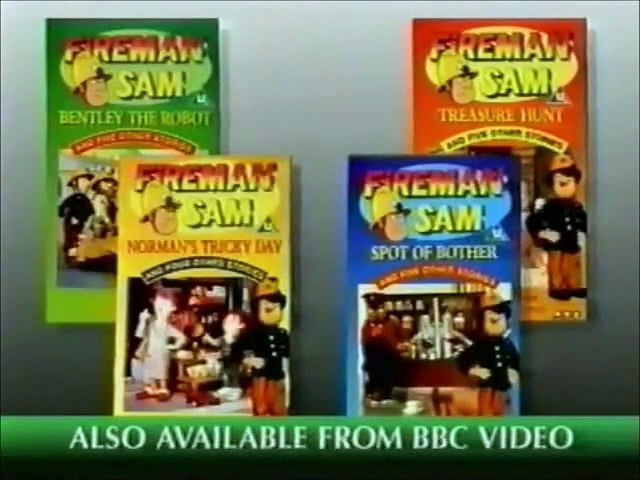 Start of Fireman Sam - Spot of Bother VHS (Monday 5th September 1994) | Godialy.com