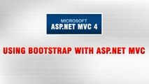 ASP.NET MVC 4 Tutorial In Urdu - Using BootStrap with ASP.NET MVC