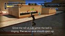 Tony Hawks Pro Skater HD School 2 - Secret Area - Gym/ Pool Area tutorial in Single Player