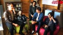 Interview d'avant concert de Feu  ! Chatterton au festival des 3 éléphants