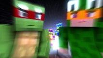 """""""Teenage Mutant Ninja Turtles"""" - Minecraft Parody"""