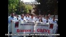 TOUS LES CHU EHS DU PAYS - RESIDENTS EN GREVE 15-16 MARS 2011 ALGER-ORAN-CONSTANTINE-ANNABA...etc