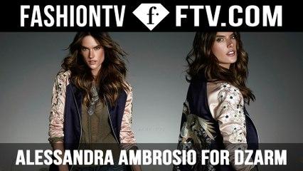 Alessandra Ambrosio for DZARM Autumn 2016   FTV.com