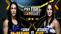 Fight Night Las Vegas Official Weigh-in - SARA McMANN vs JESSICA EYE
