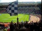 County end at Hampden Pre Match for Scottish Cup Final 15.05.10.AVI
