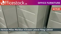 4 Drawer Metal Lateral File Cabinets