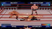 WCW Mayhem Matches - Kevin Nash vs Scott Steiner vs Sting vs Ric Flair