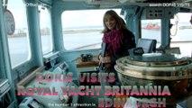 Britannia, Doris Vists the Royal Yacht Britannia