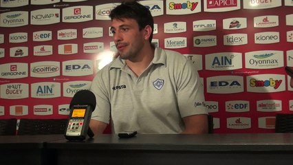 Rugby Top 14 - Rémi Lamerat après Oyonnax - Castres