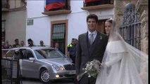 Charlotte Wellesley y Santo Domingo se casan bajo la lluvia de Granada