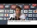 Girondins de Bordeaux : Planus assume