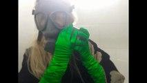 Military   Finnish Gas Mask Breathing Opera Gloves    [[ASMR]]