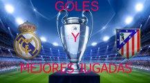 Resumen REAL MADRID vs ATLETICO DE MADRID , CHAMPIONS LEAGUE