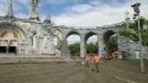 Lourdes : nettoyage et constatations des dégâts aux sanctuaires