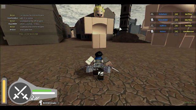 Roblox: Attack On Titan Downfall BEST ATTACK ON TITAN GAME YET
