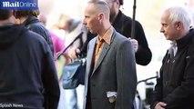Ewen 'Spud' Bremner films scenes for Trainspotting 2 film