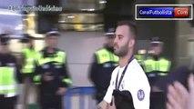 Caras de felicidad de los jugadores del Real Madrid tras ser campeones de Champions League • 2016