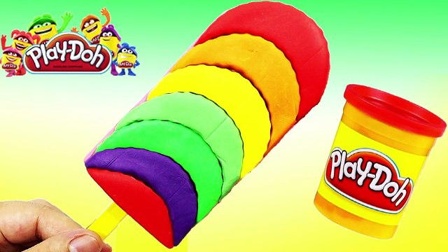 PLAY DOH - The idea of creating new ice cream for Peppa Pig videos 2016