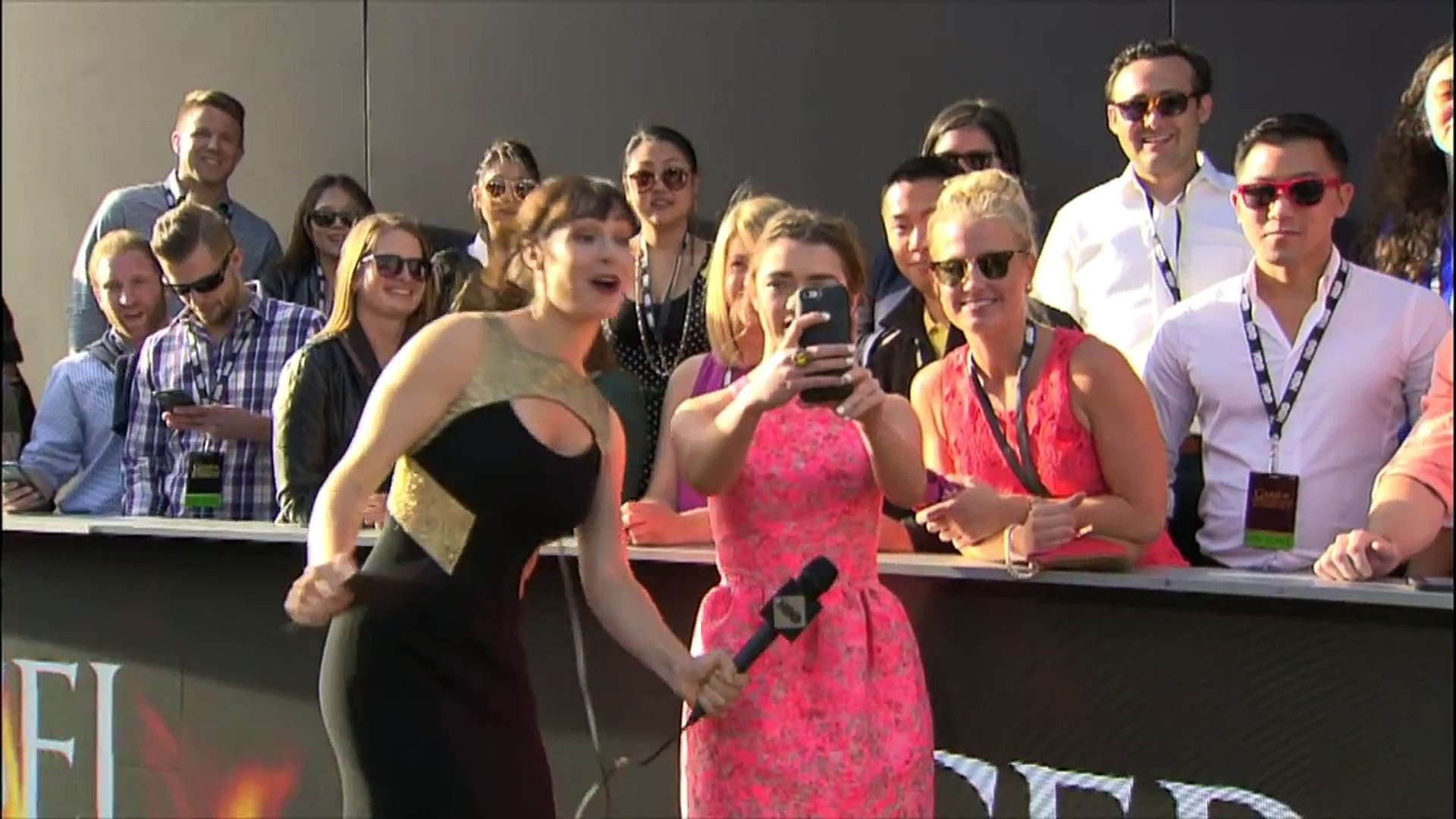 Game Of Thrones - Season 6 Premiere Red Carpet Cast Interviews at Los Angeles 04/10/2016