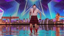 Vadik and his dancing polar bear bust a move Auditions Week 5 Britain's Got Talent 2016