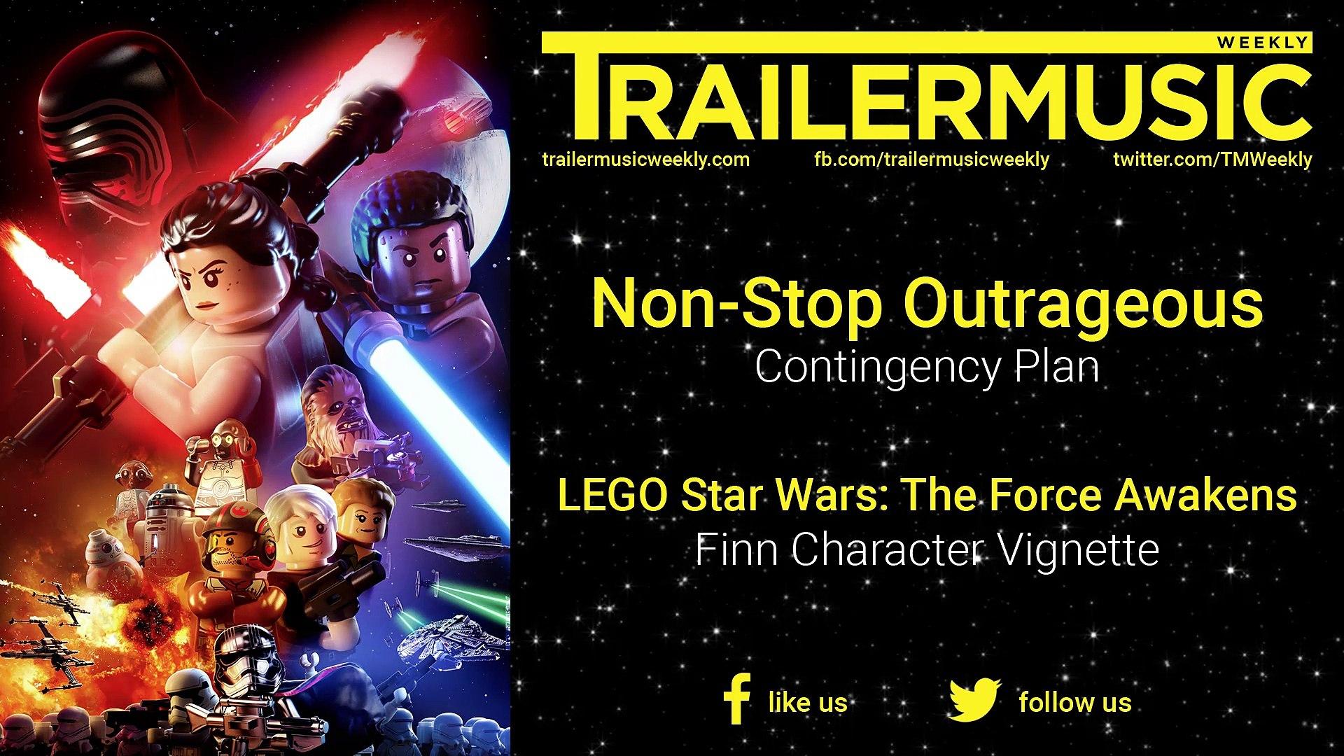 Lego Star Wars The Force Awakens Finn Character Vignette Music